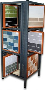 New Kitchen Wall Tile Display