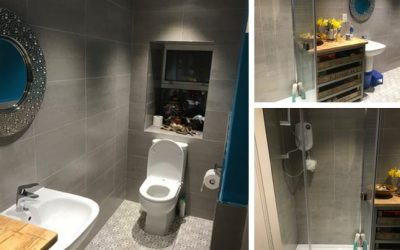 Kingswear Bathroom to Shower Room Transformation