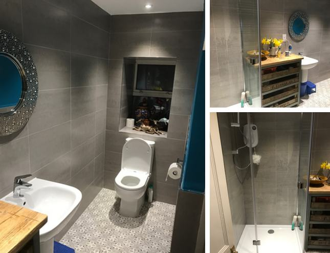 Kingswear Bathroom to Shower Room Transformation